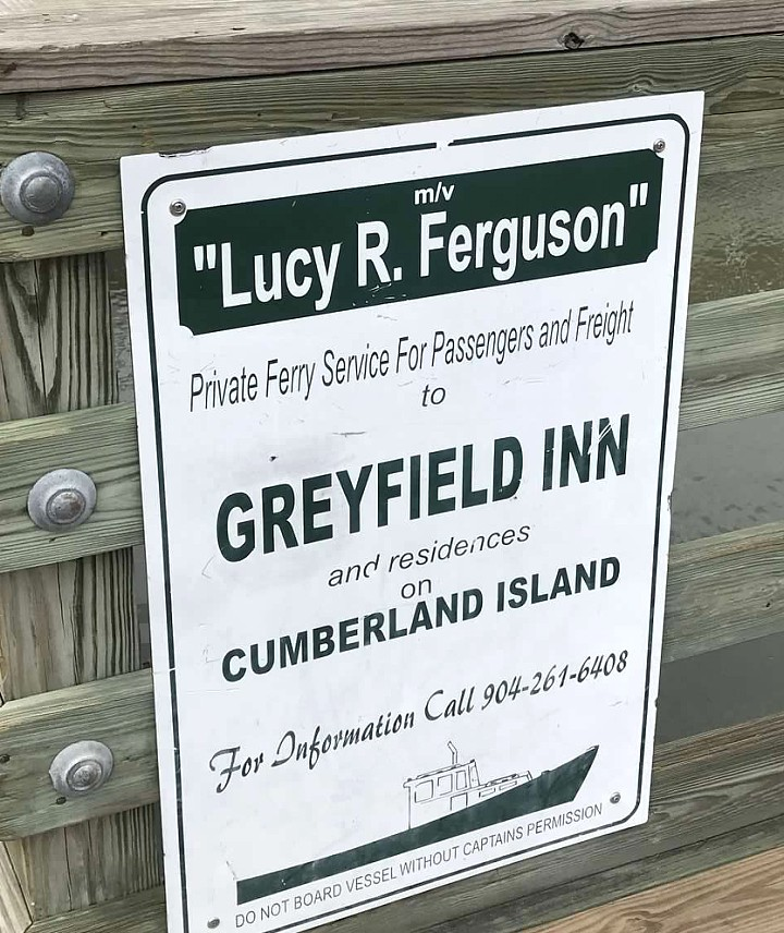 Greyfield Inn is the only hotel on Cumberland Island