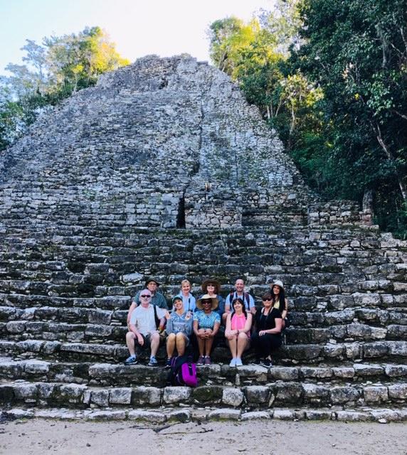 Mayan Ruins Coba Pyramid