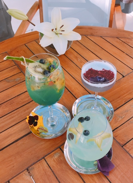 Specialty drinks at Grand Velas