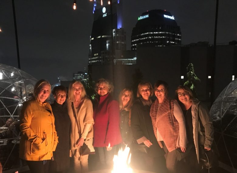 Girlfriend Trip to Nashville's Bobby Hotel Rooftop