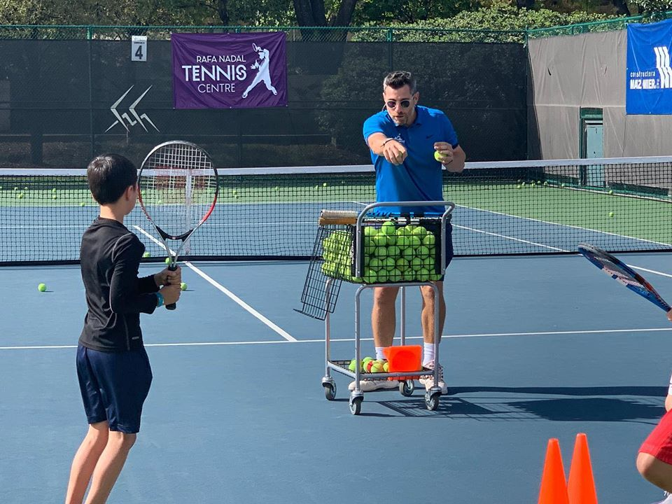Total Tennis Junior Programs are for kids over seven years old