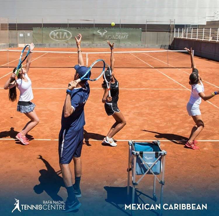 Small Group Tennis Instruction allows for growth in skill and experience