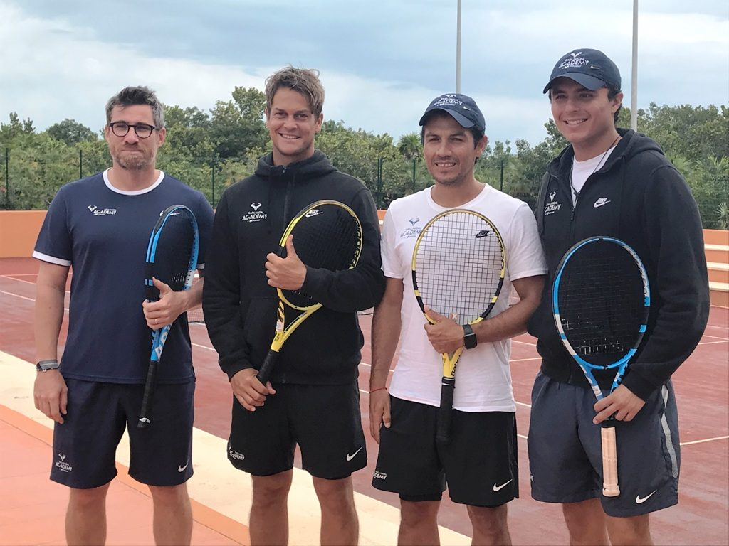 Rafa Nadal Tennis Centre Coaches are Professionals who customize programs