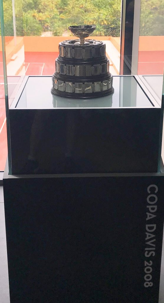 Rafa Nadal's Copa Davis Cup 2008 Trophy