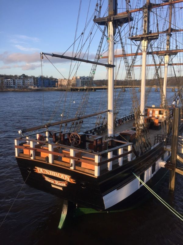 Tour the Dunbrody famine ship with live actors portraying the lives of passengers.