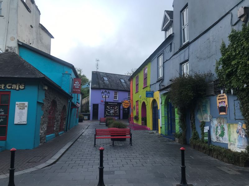The most picturesque city of Kinsale, with excellent restaurants.
