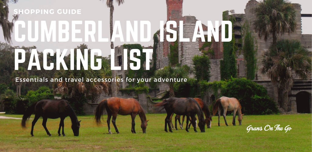 cumberland island, ga packing list travel shopping guide