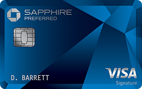 Choose the Chase Sapphire Preferred Card for many options for travel