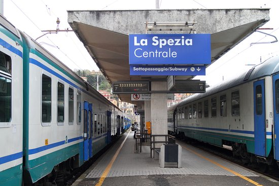 La Spezia train station provides access to many hotels in the area.
