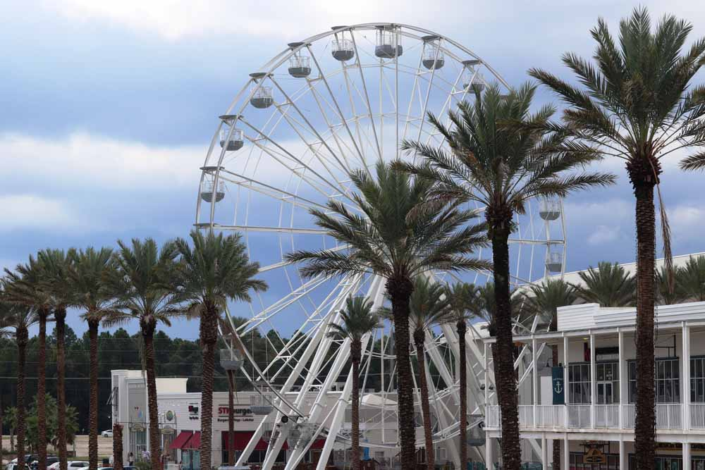 The Wharf in Orange Beach, Alabama offers shopping, restaurants, and entertainment