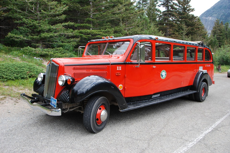 The Red Buses were built between 1936-1939 (NPS Stock Photo)