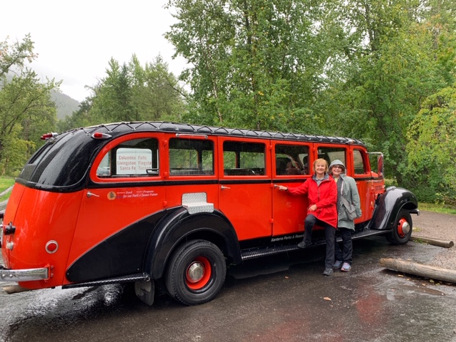 Grans on The Go with The Red Bus Tours in Glacier National Park