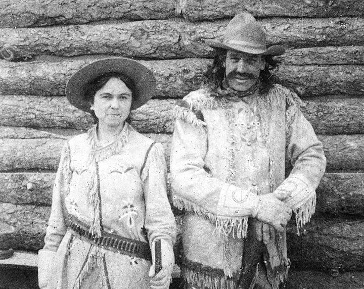 Calamity Jane and Buffalo Bill socialized at The Pollard Hotel.
