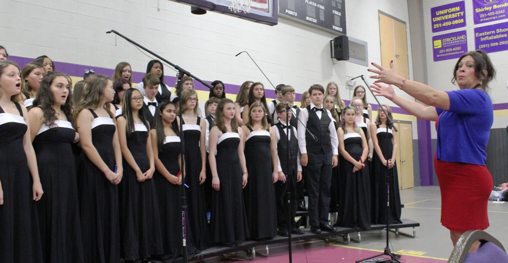 Daphne Middle School Choir