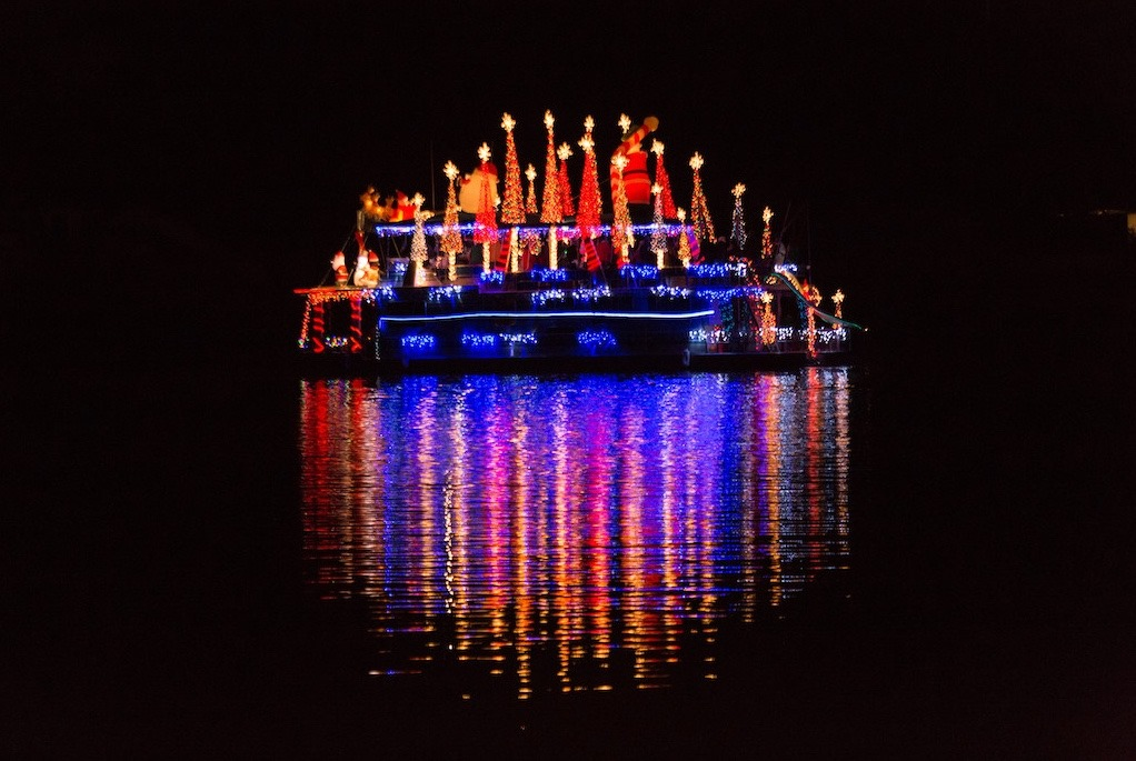 Christmas Lighted Boat Parade (Photo Courtesy of  Gulf Shores-Orange Beach Tourism Facebook page)