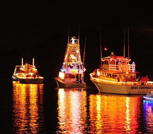 Christmas Lighted Boat Parade along the Alabama Gulf Coast (photo credit to coast360.com)
