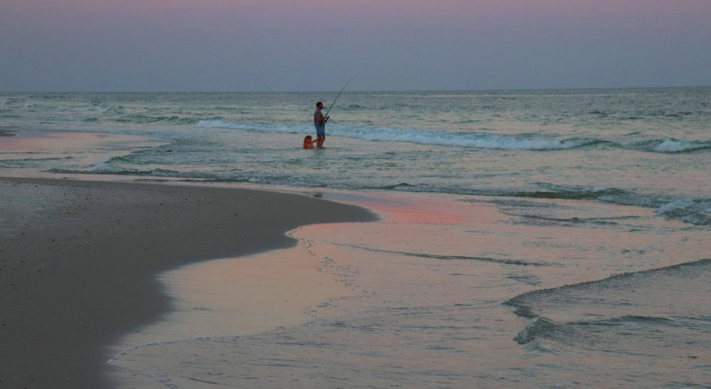 Beach Fishing in Alabama's Gulf of Mexico