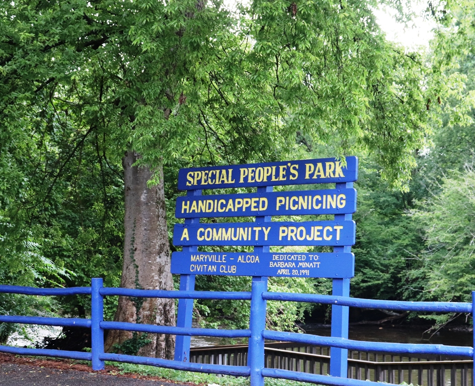 A Park dedicated to persons with Special Needs in Townsend, Tennessee