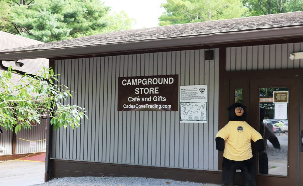 Rent bikes at the Cades Cove Campground Store, Smoky Mountains