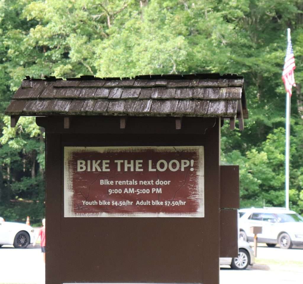 Bike the Loop Road in Cades Cove in Smoky Mountain National Park