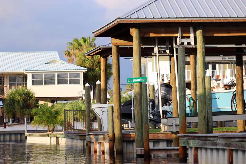 Residents of Orange Beach often live and work on the water