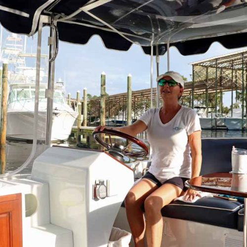 Anonyme Cruises for a boat tour of the bays of Orange Beach