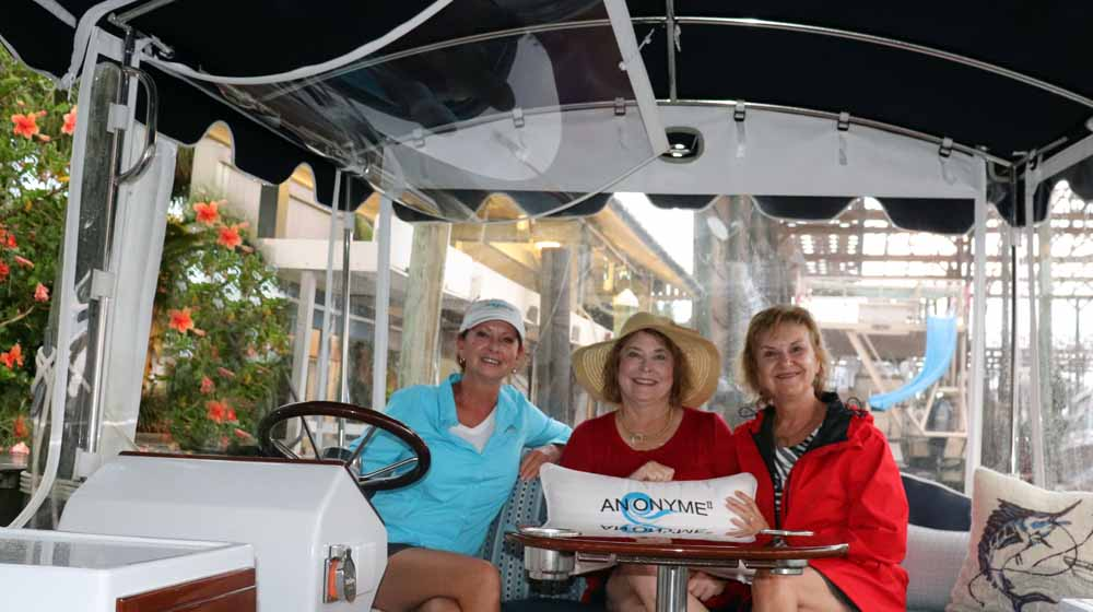 Anonyme Cruises offers a relaxing and inspiring boat tour of the bays in Orange Beach